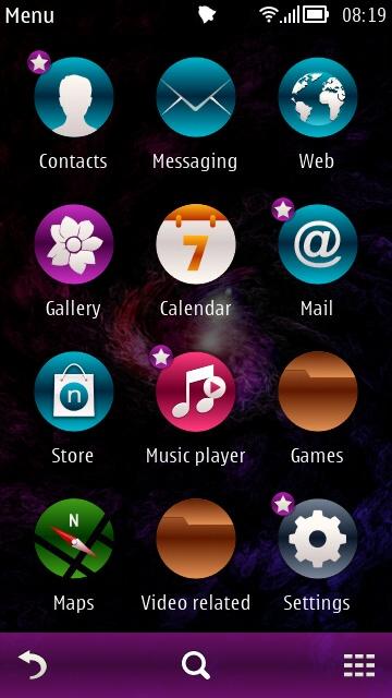 Arjun theme screenshot