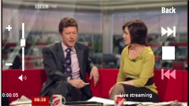 BBC TV Live screenshot