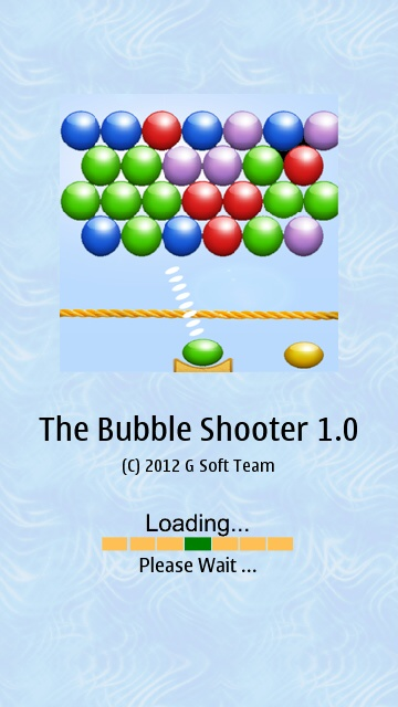 Screenshot, The Bubble Shooter