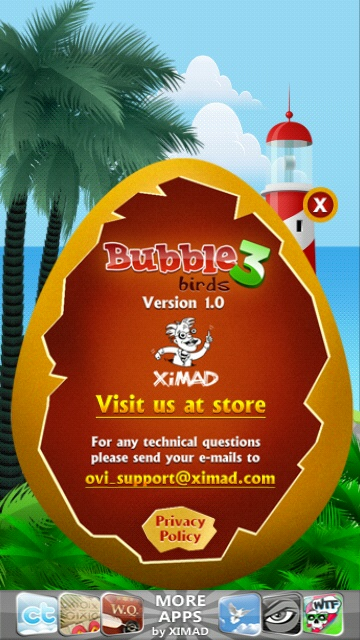 Bubble Birds 3 screenshot