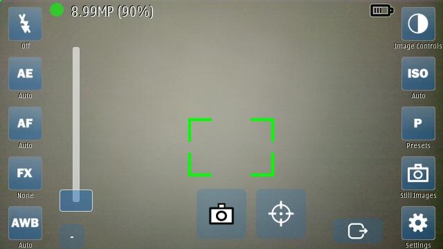 CameraPro Qt screenshot