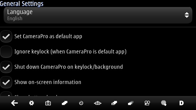 CameraPro Qt screenshot