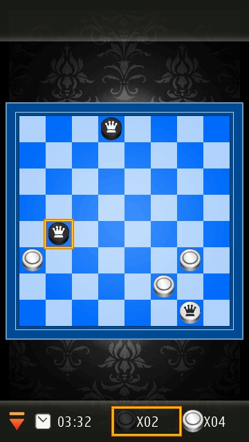 Screenshot, Checkers Deluxe