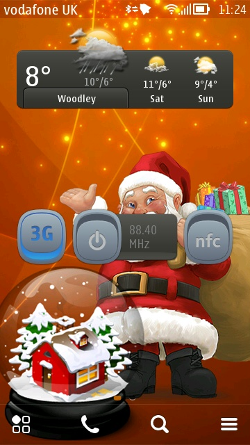 Screenshot, Christmas themes