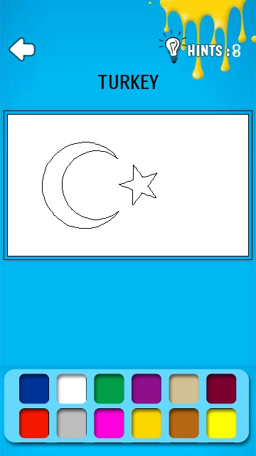 Screenshot, Colour the Flag