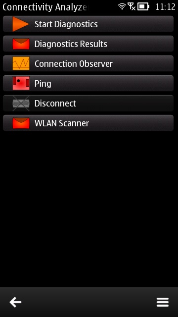 Screenshot, Nokia Connectivity Analyzer
