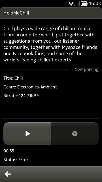 cuteRadio screenshot