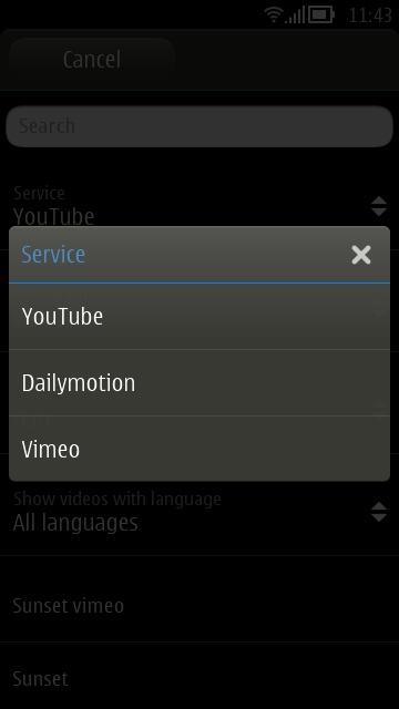Screenshot, CuteTube 1.7.3