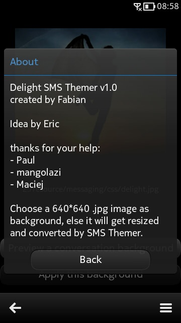Screenshot, Delight CFW N8 6.4