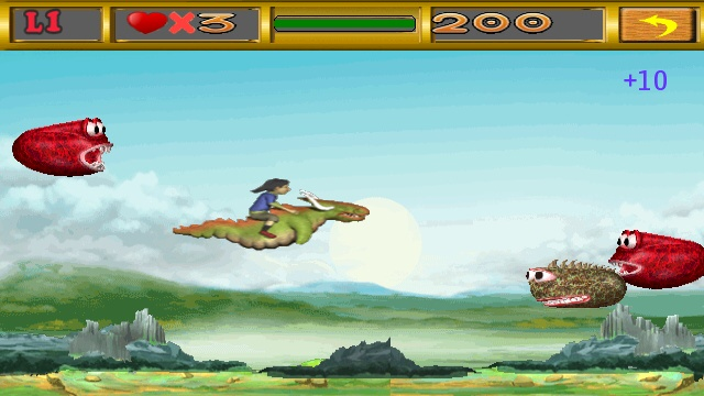 Screenshot, Ninja Dragon Rider
