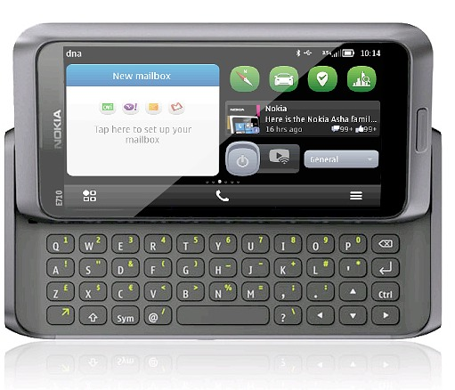 Nokia surprises with new E710 Communicator!