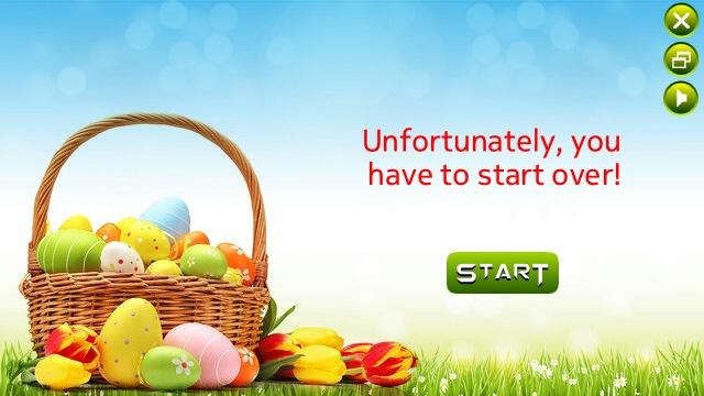 Screenshot, Four Easter Eggs
