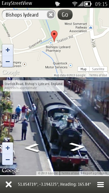 Screenshot, EasyStreetView