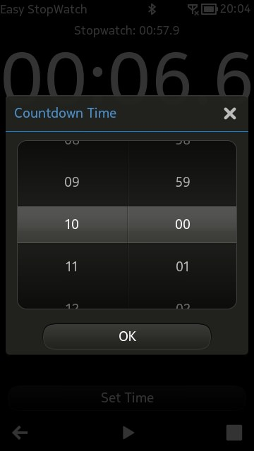Screenshot, Easy StopWatch
