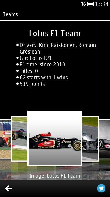 Screenshot, F1uptodate