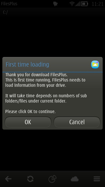 Screenshot, FilesPlus
