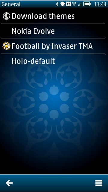 Screenshot, Football theme