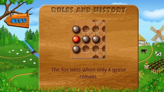 Fox and Geese screenshot