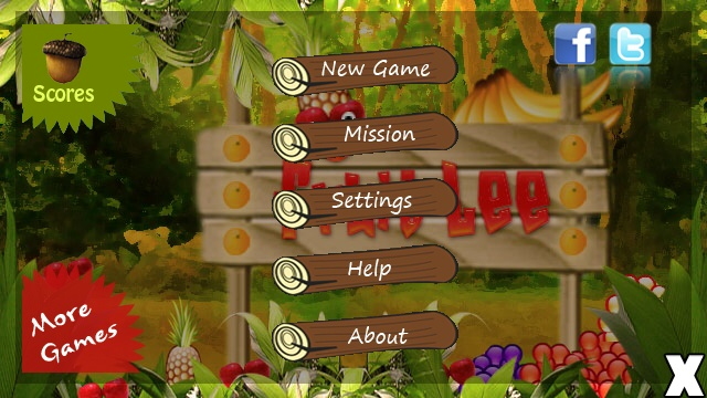 Screenshot, Fruit Lee