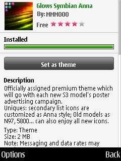 Screenshot, Anna themes on 3rd Edition