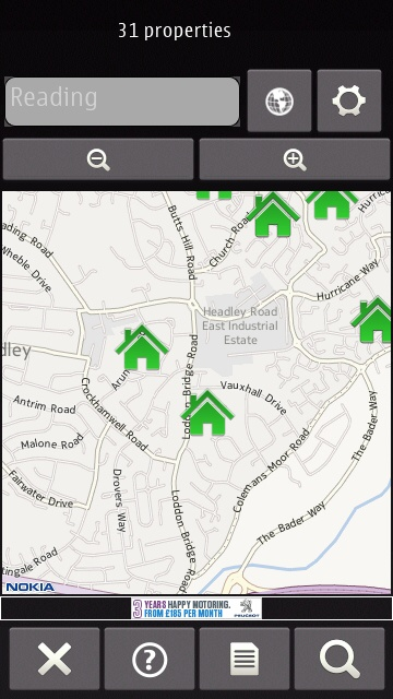 HomeFinder screenshot