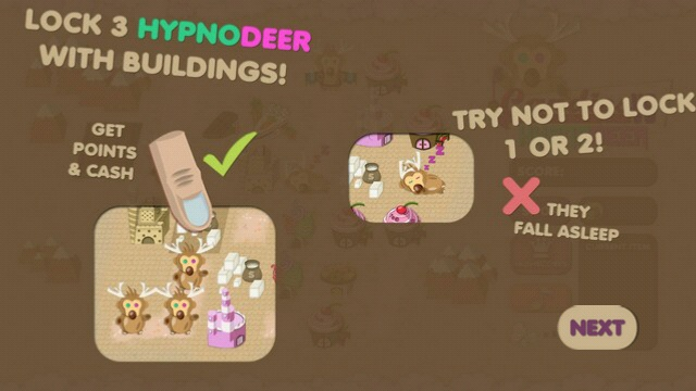 Screenshot, Candies vs Hypnodeer