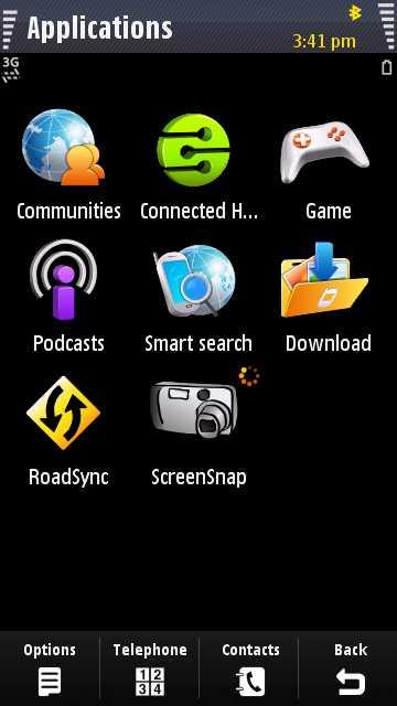 i8910 HD screenshot