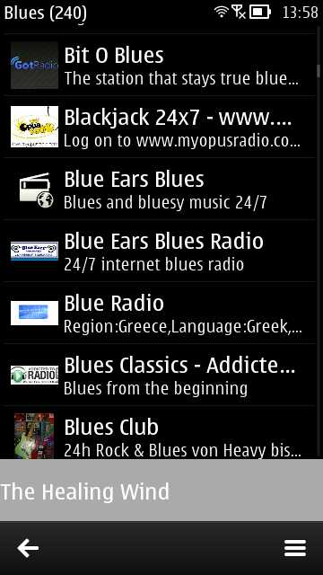 Nokia Internet Radio update
