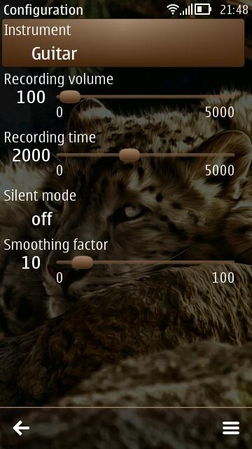 KM Tuner screenshot