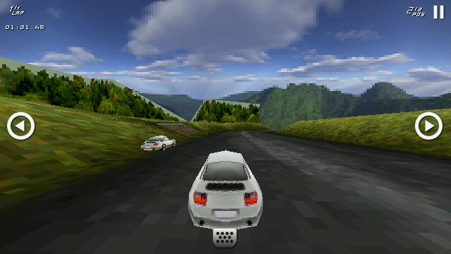 Screenshot, K.O. Racing 3D