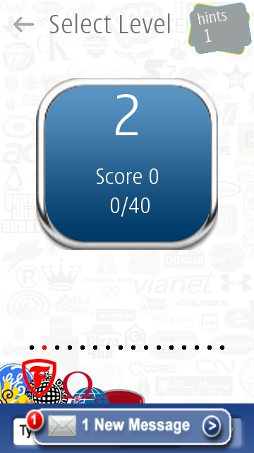 Screenshot, Logo Quiz