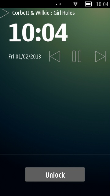 Screenshot, LockscreenAudio