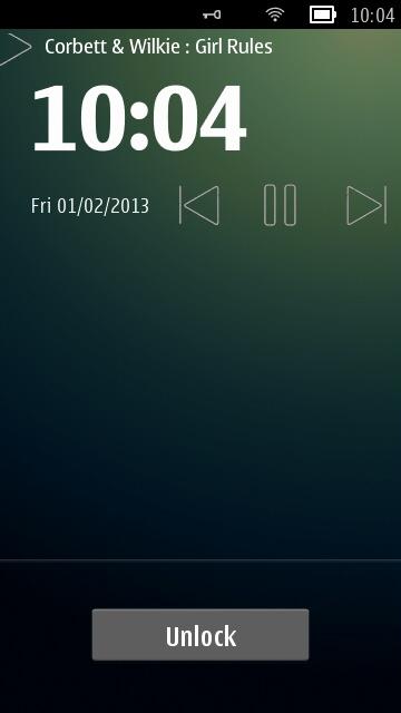 Screenshot, LockscreenAudio