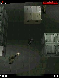 Metal Gear Solid Mobile screen