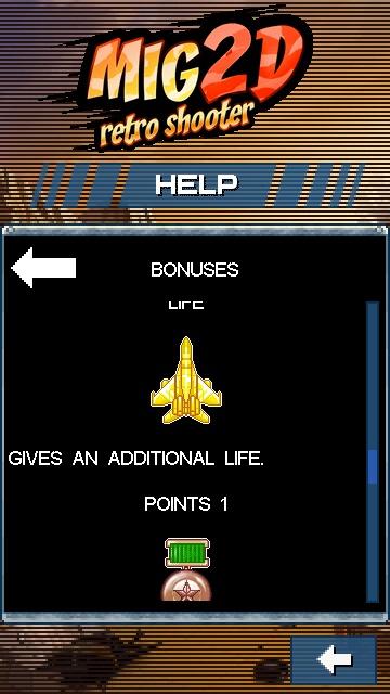 Mig 2D, screenshot