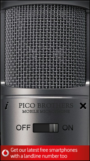 Mobile Microphone screenshot