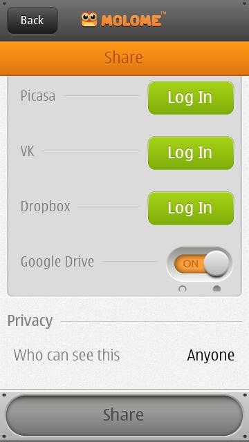 molome 2.2.1 symbian