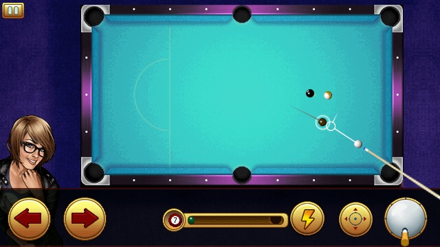 Screenshot, Midnight Pool 3