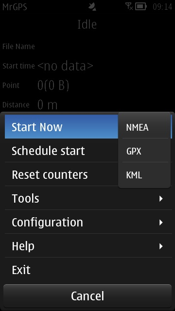Screenshot, MrGPS