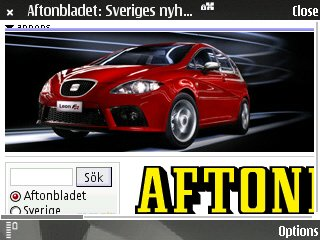 Aftonbladet? No problem