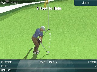 Pro Series Golf putting