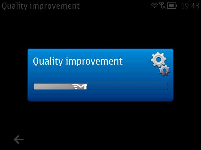 'Quality Improvement' update