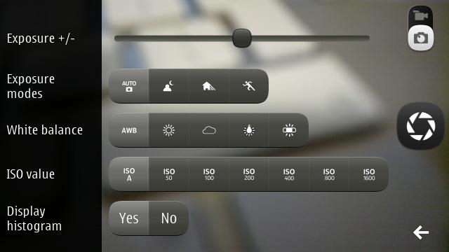 Qt Camera Demo screenshot