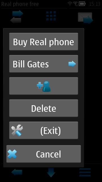 Screenshot, Real Phone