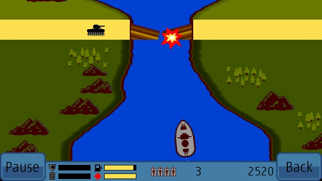 RiverRaider screenshot