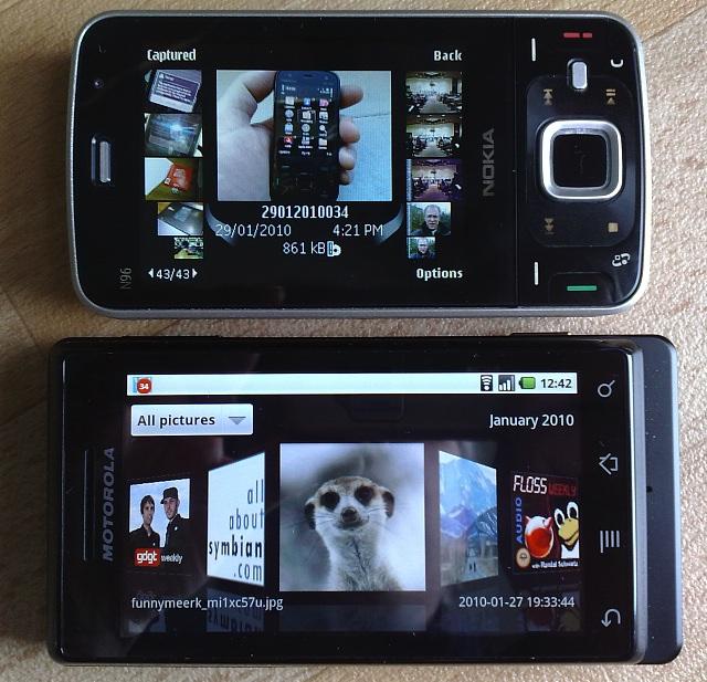 N96 and Milestone