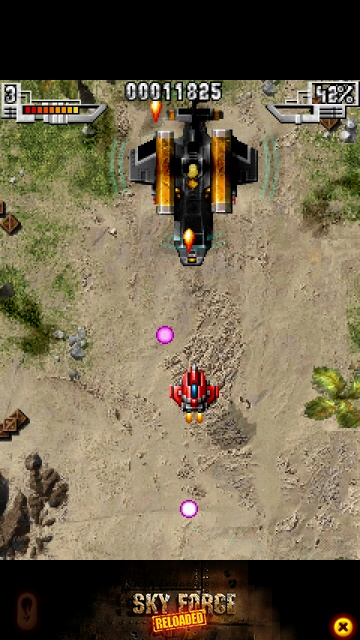 Screenshot, Sky Force Reloaded