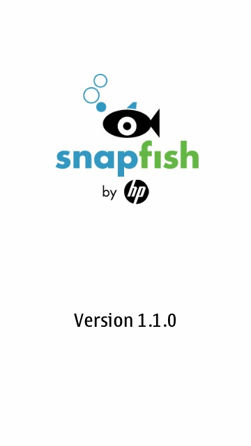 Screenshot, Snapfish uploader