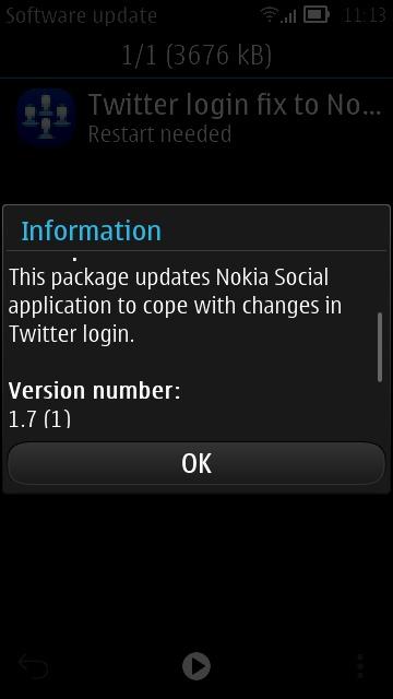Screenshot, Social update