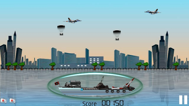 Screenshot, The Battleship